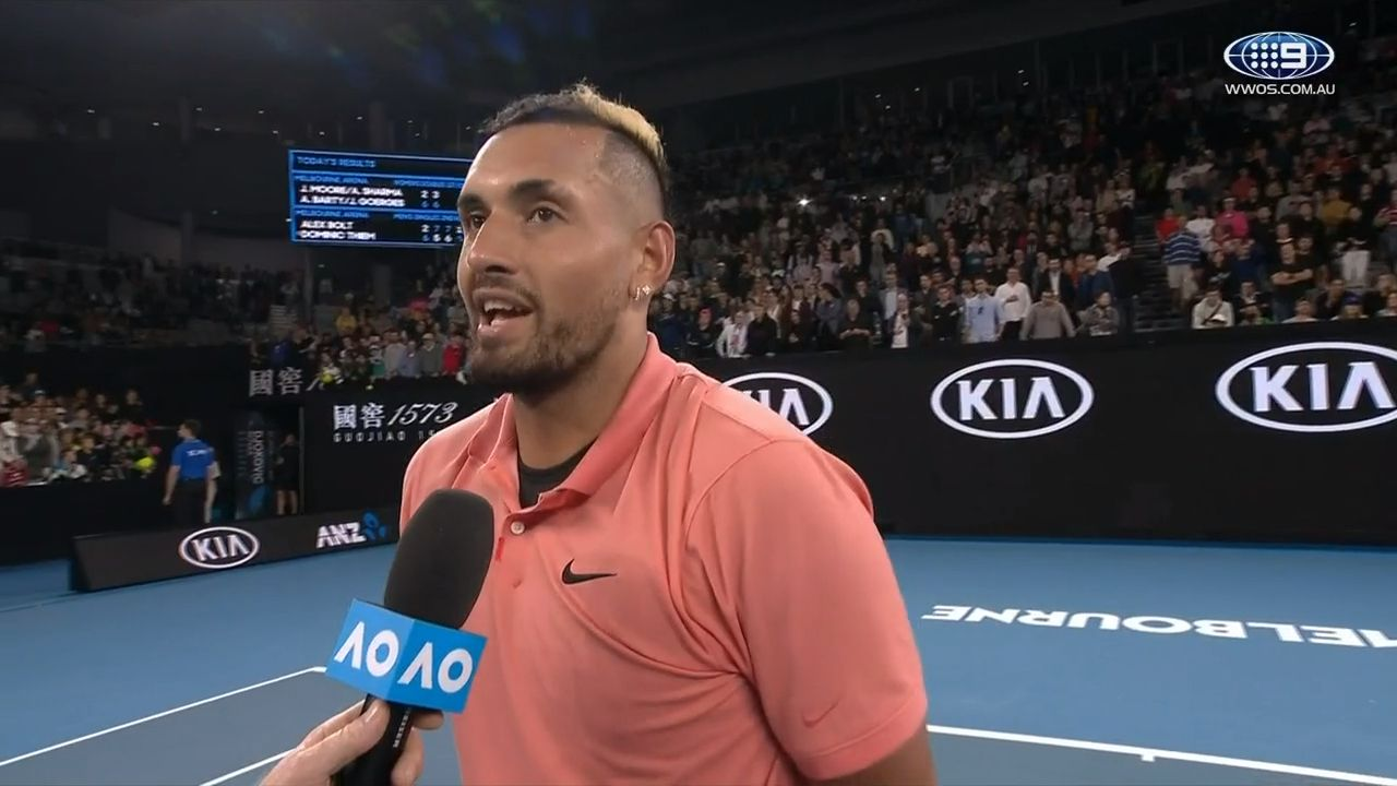How participation in Australian team setup has unlocked the fully-fledged Nick Kyrgios