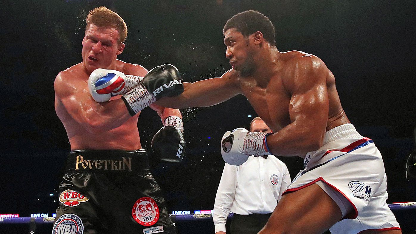 Anthony Joshua retains heavyweight titles with TKO against Alexander Povetkin