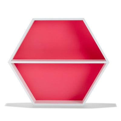 "Hexagon shadow box, $12, <a href=""http://www.kmart.com.au/product/hexagon-shadow-box/578839"" target=""_blank"">Kmart</a>"