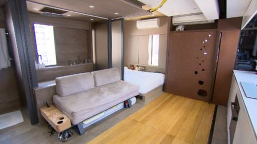 The humble living spaces are attracting eye-watering prices. (9NEWS)