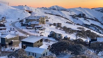 A burst of cold air brought snow to parts of central and northern NSW during the last 24 hours. June 3, 2020.