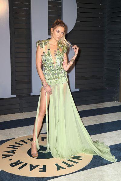 Model Paris Jackson inAtelier Versace