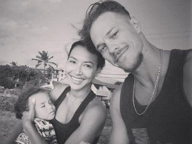 Naya Rivera, Ryan Dorsey and their five-year-old son Josey.