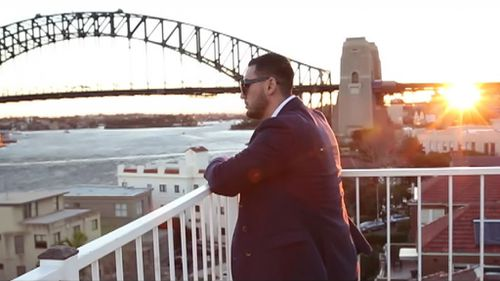 The 'motivational video' was released to Mr Mehajer's Facebook. (Facebook)