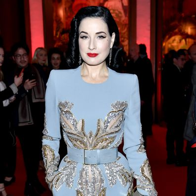 Dita Von Teese, responds, abuse allegations, ex-husband Marilyn Manson