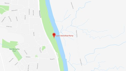 The accident occurred near Loam Island boat ramp. (Google Maps)