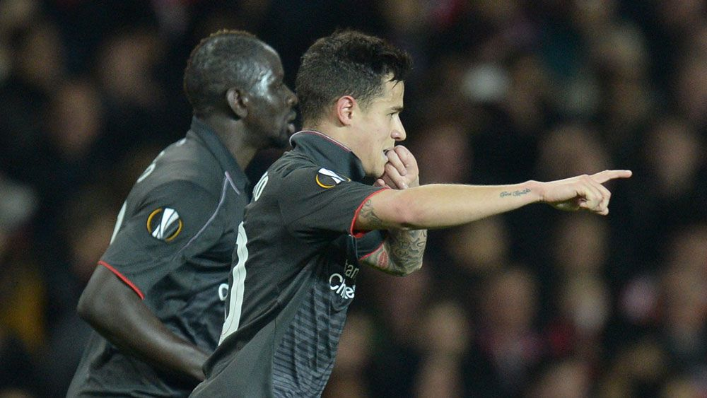 Football: Classy Coutinho sends Man Utd out of Europe