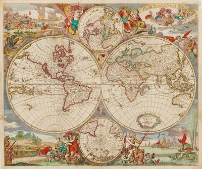 Frederick de Wit map, 1690s