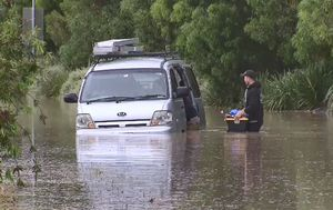 Victoria lashed with severe storms, flash flooding