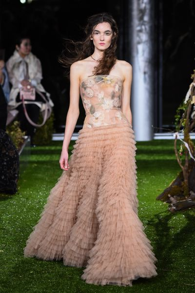 """<p>When Dior opens a five floor boutique in Tokyo&rsquo;s Ginza district you know that Japan is still at the heart of luxury.</p> <p> Creative director Maria Grazia Chiuri took her first haute couture collection to the land of cherry blossom, vending machines and more designer brands than the Champs Elysee.</p> <p> While other luxury brands have been focussing on China, Dior still sees the potential for full coffers from Japan.</p> <p> """"What we want to do in Japan is look for the local market. We look for the Japanese customers,"""" who have long been """"super customers for luxury and high fashion,"""" chief executive Sidney Toledano told Reuters.</p> <p> For the collection, Chiuri added some new pieces that drew inspiration from Japan. Cue the cherry blossom motifs. Chiuri is many things but her most recent all-blue ready-to-wear show demonstrated that subtlety is of little interest.</p>"""