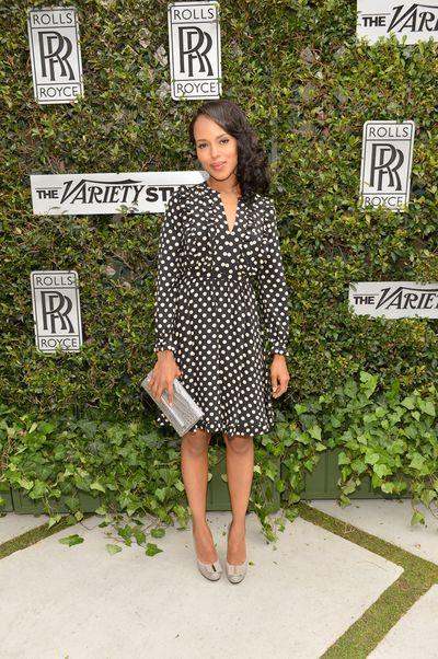 Kerry Washington in Kate Spade in Los Angeles, November 2012