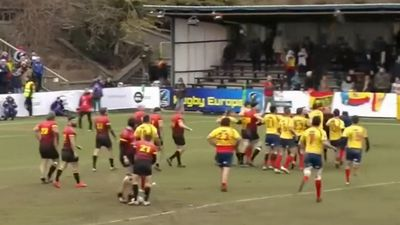 Ugly scenes mar Spain Rugby World Cup qualifier