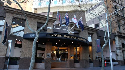 The security guard worked at the Marriott Hotel in Sydney.
