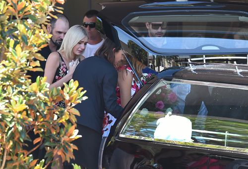 Shelsea's funeral in November 2016. The 20-year-old was only weeks away from her birthday when she died. (AAP)