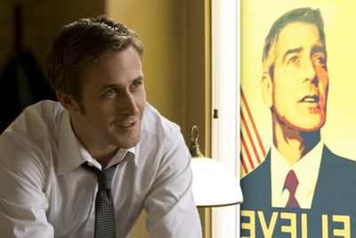What is it with Ryan Gosling? The heart-throb is at the top of his game in George Clooney's fourth film as director. One of the most compelling films about politics in many years. George Clooney for President, Ryan Gosling for Naked.