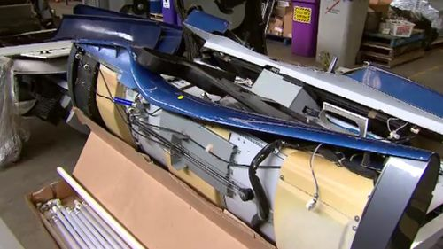 The machines were outlawed for commercial use in Victoria three years ago. (9NEWS)