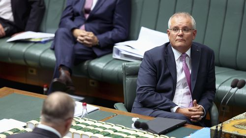 Prime Minister Scott Morrison was jeered during Question Time.