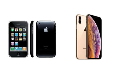 iPhone 3GS vs the iPhone X