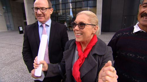 Pauline Tyler has won a supreme court battle over where on her property she is allowed to install solar panels.