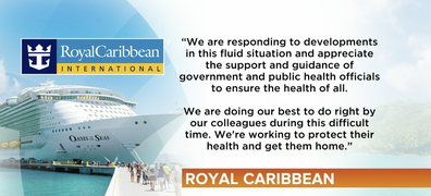 A statement from the Royal Caribbean.