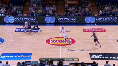 NBL: Adelaide 36ers smash Illawarra Hawks in heated encounter