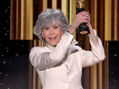 Jane Fonda was awarded a lifetime achievement award at the 2021 Golden Globes