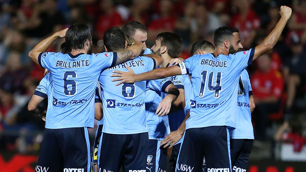 Sydney thrash Reds in A-League
