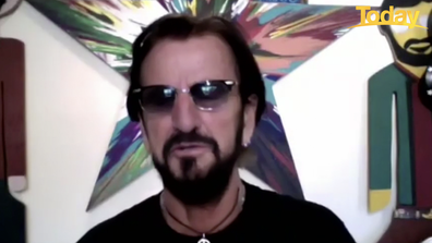 Ringo Starr got candid about the Beatles as he chatted to Today host Karl Stefanovic.