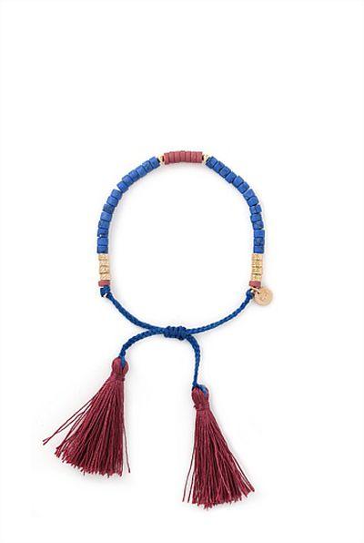 """<a href=""""http://www.countryroad.com.au/shop/woman/jewellery/60186746-6044/Tassel-Bracelet.html"""" target=""""_blank"""">Bracelet, $39.95, Country Road</a>"""