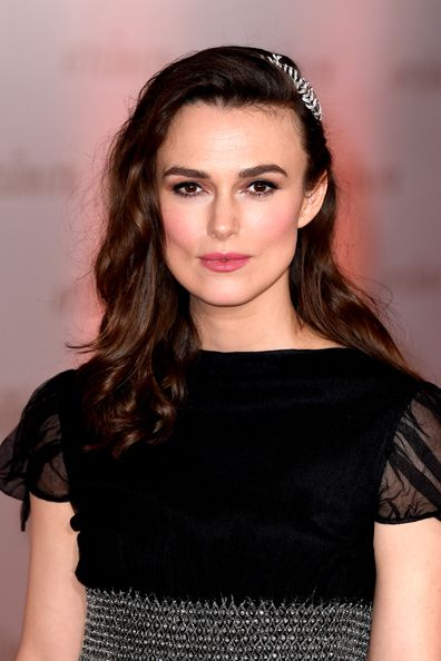 Keira Knightley, movie premiere, The Aftermath
