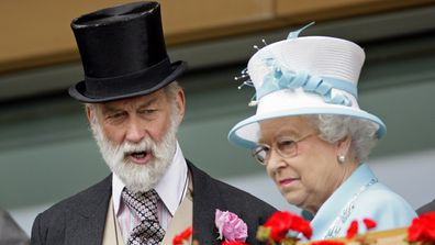 Prince Michael with Her Majesty