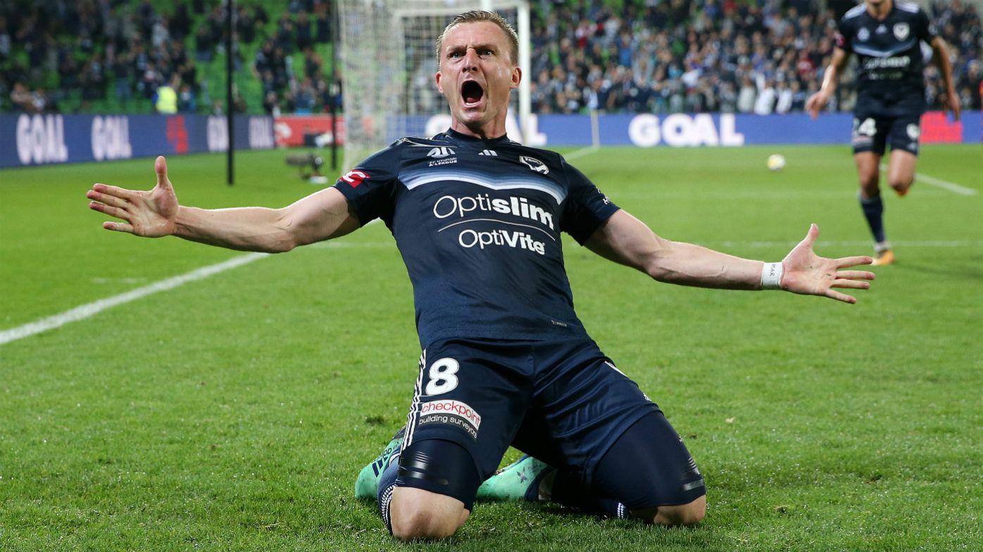 Berisha celebrates