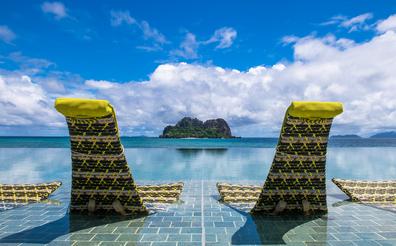 VOMO Island Fiji pool