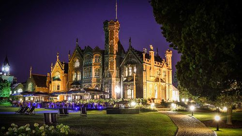 Some guests will stay at the luxurious Oakley Court Estate. (Supplied)