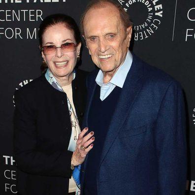 Bob Newhart and wife Ginny Newhart in 2018.