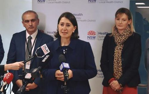 NSW Premier Gladys Berejiklian announced funding for heart disease research today.
