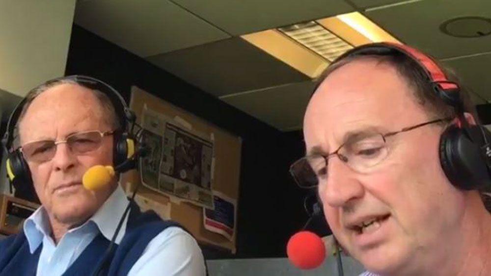 Former opening batsman Geoffrey Boycott pranked by BBC colleague Jonathan Agnew