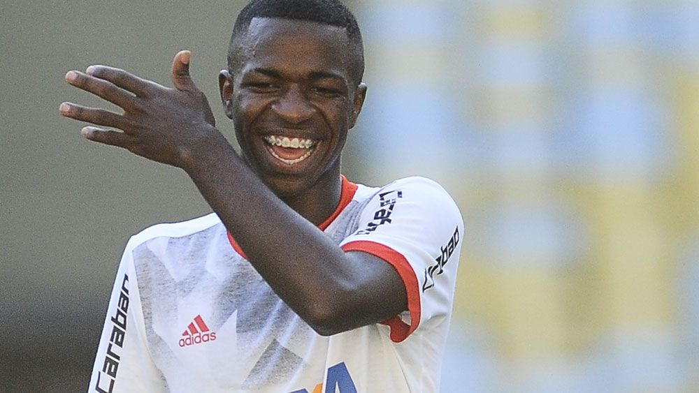 Real Madrid pay $67 million to sign 16-year-old Brazilian Vinicius Jr