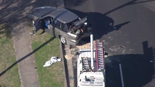 A man was taken to hospital with serious injuries. (9NEWS)