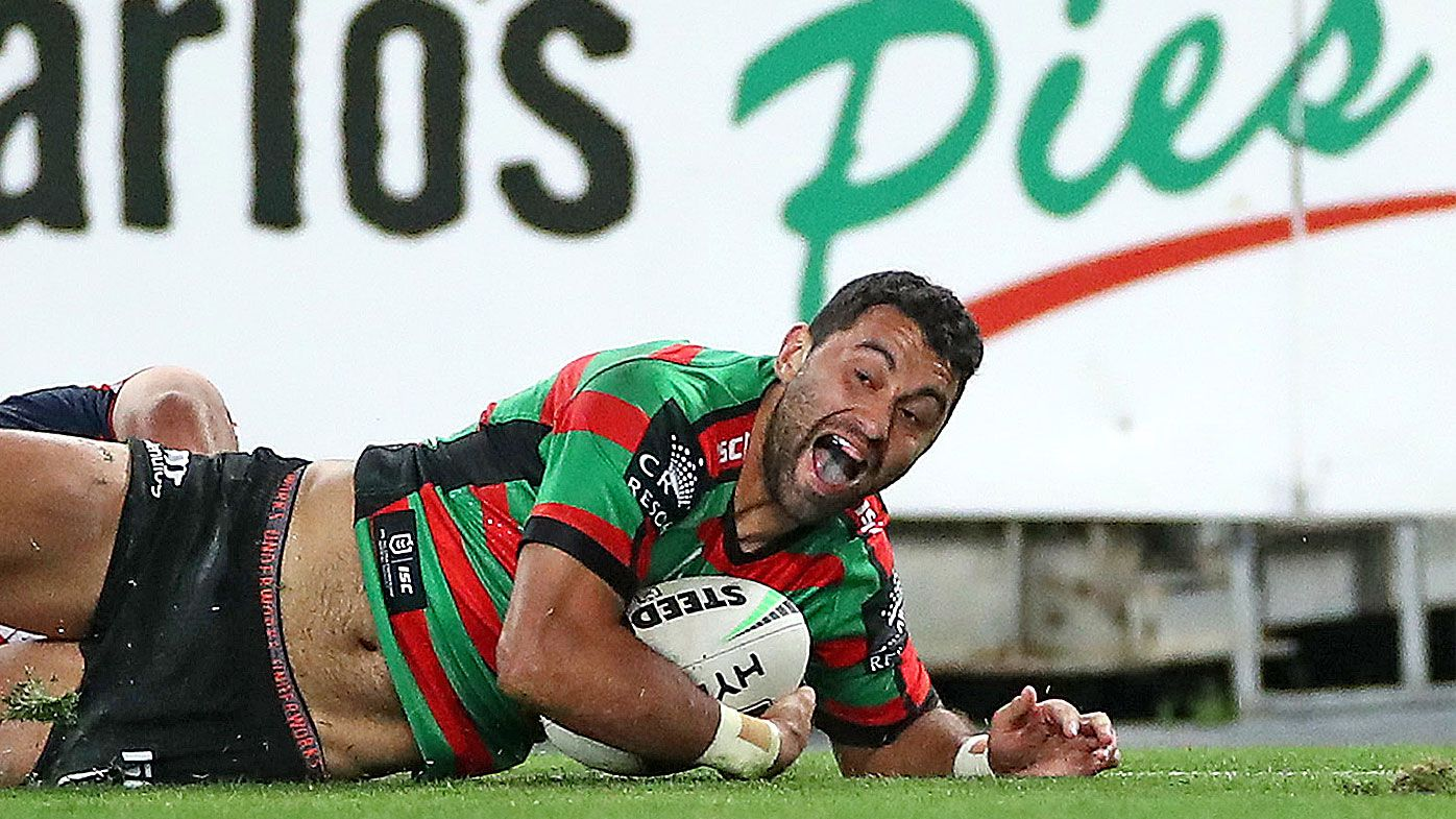 The 'mentality' that inspired Alex Johnston's five-try heroics for the Rabbitohs