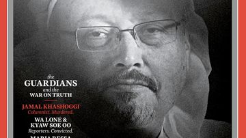 Jamal Khashoggi among 'The Guardians' named TIME Person of the Year 2018.
