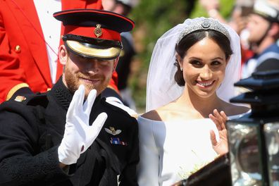Prince Harry inherited a number of titles upon the occasion of his marriage.