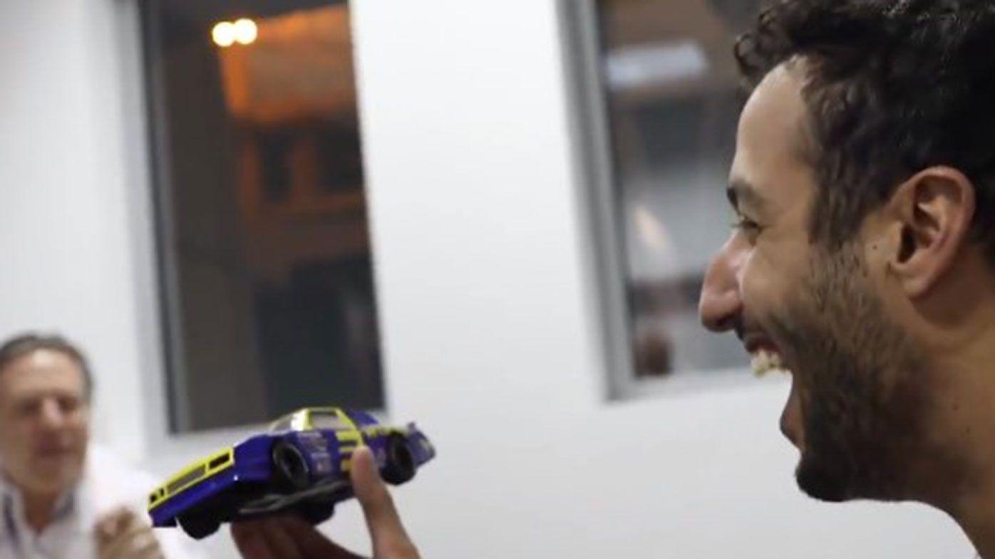 Daniel Ricciardo will drive Dale Earnhardt's 1984 Chevrolet if he can score a podium in 2021.