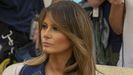 Melania Trump wears $5,000 Gucci coat to welcome Polish President