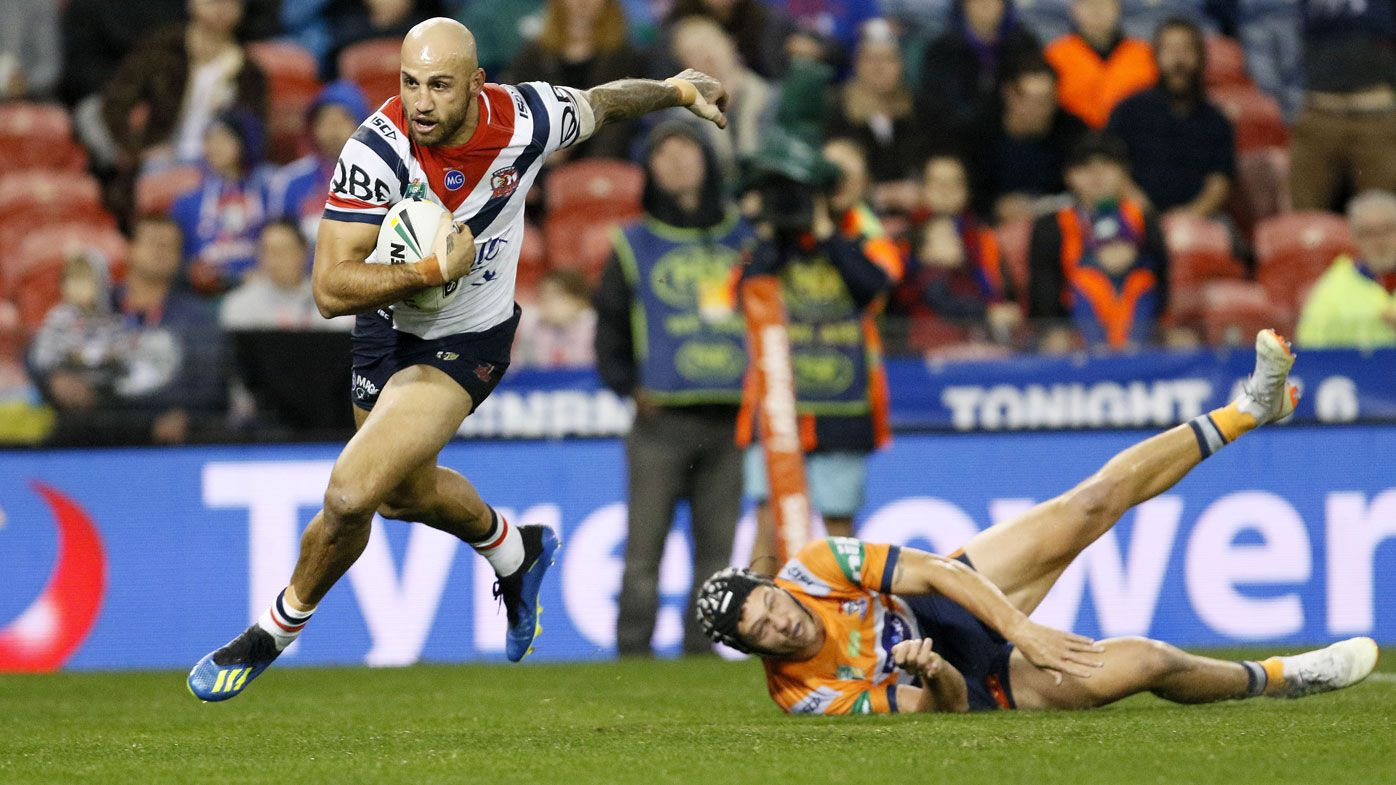 Buhrer injured as Roosters down Knights