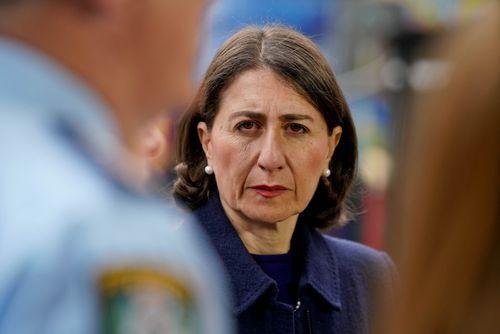 Gladys Berejiklian intervened on Friday after AlanJones publicly berated Opera House chief executive Louise Herron, saying she should lose her job.