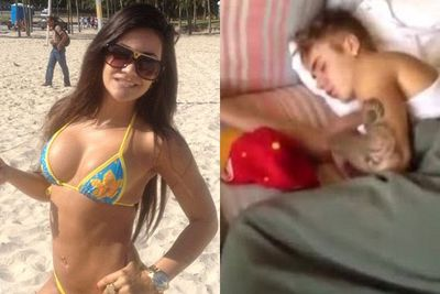 "After sneaking around Brazilian brothels during his Believe tour, a grainy video selfie of the 19-year-old was posted by porn star Tati Neves. Did they or didn't they? Although the Biebs denied the two hooked up, Tati told <i>The Sun</i> JB was ""good in bed"", ""well-endowed"" and ""looks great naked."" For all those wondering of course..."