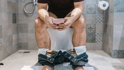 Woman furious over husband's strange bathroom habit
