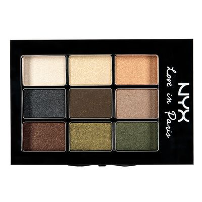 "<a href=""https://www.priceline.com.au/brand/nyx/nyx-love-in-paris-eyeshadow-palette-7-2-g"" target=""_blank"">NYX Cosmetics Love in Paris Eye Shadow, $16.95.</a>"