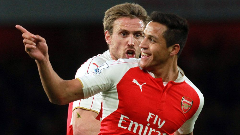 Sanchez lifts Arsenal into third in EPL